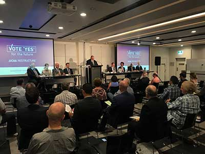 CAA National EGM 14 April