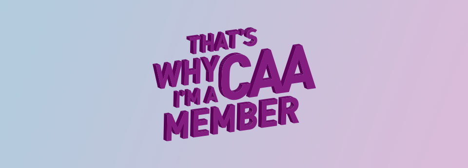 Thats Why Im a CAA Member
